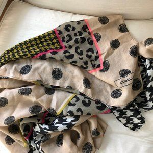 Codello Never Worn Multi Print Scarf